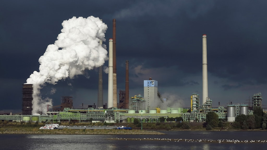Stålfabrik i Tyskland