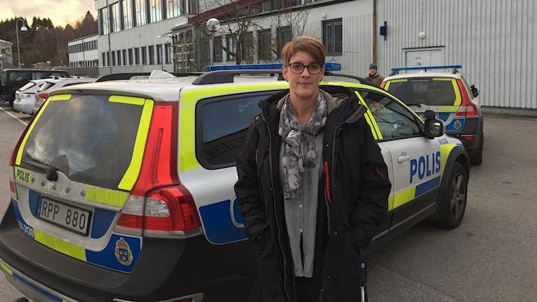 Maria Kempe Olsson, en av rektorerna på Bergsjöskolan.