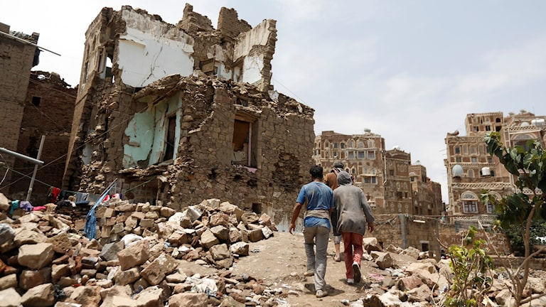 Arkivbild. Sanaa, Jemen.