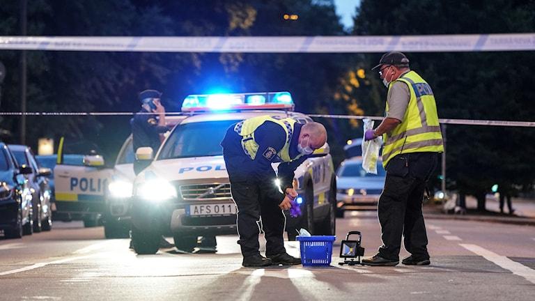 Polisen De Inblandade Del Av Pagaende Gangkonflikt Nyheter Ekot Sveriges Radio