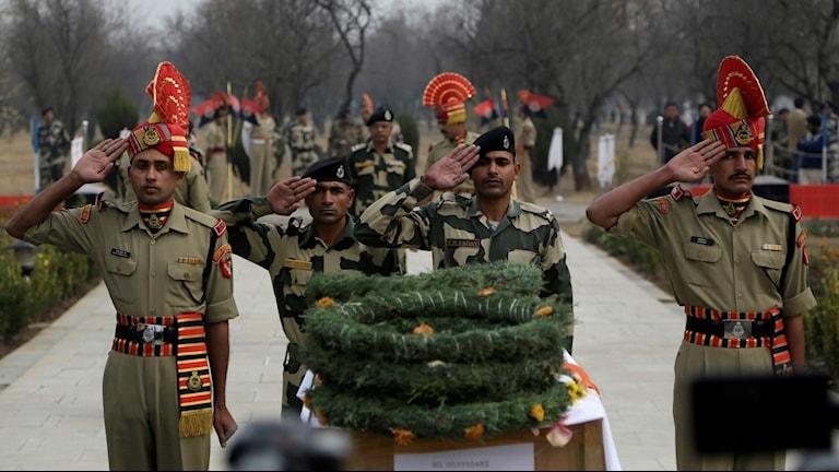 Begravning i Indien.