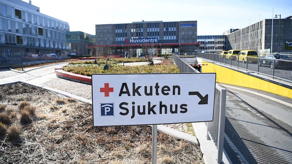 Karolinska sjukhuset i Huddinge.