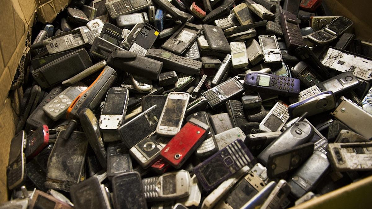 Återvinning av mobiltelefoner