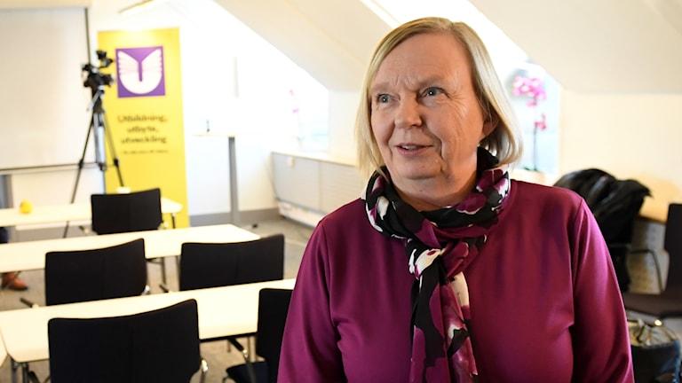 Tuula Kuosmanenär avdelningschef på UHR och ansvarar för Högskoleprovet.