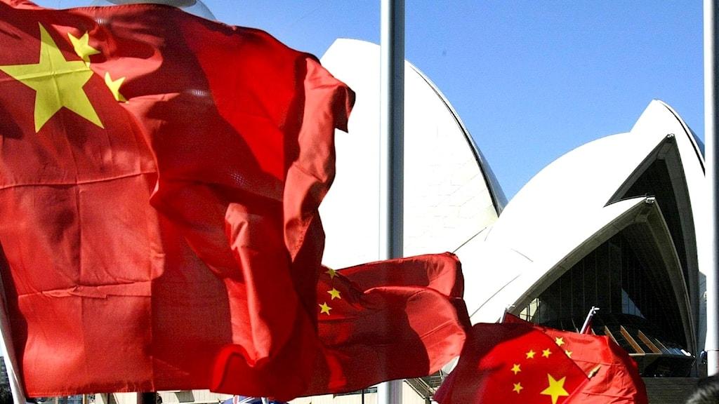 Kina Australien