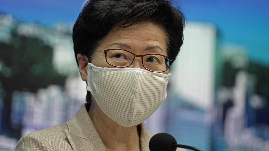 Valet i Hongkong skjuts upp