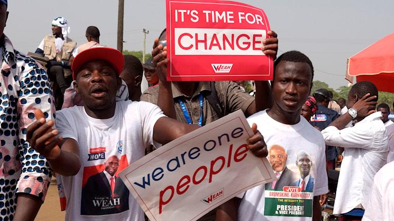 Val i Liberia