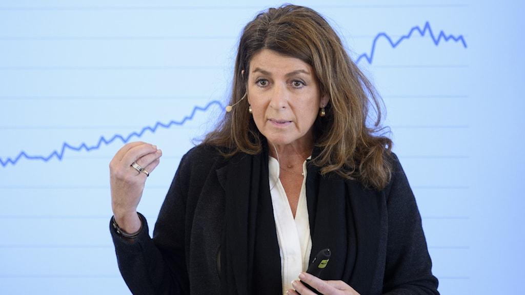Bettina Kashefi, chefsekonom på Svenskt Näringsliv