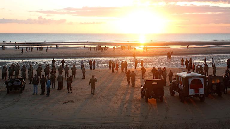 I dag, 6 juni, har det gått 75 år sedan landstigningen i Normandie som blev början på slutet av det andra världskriget.