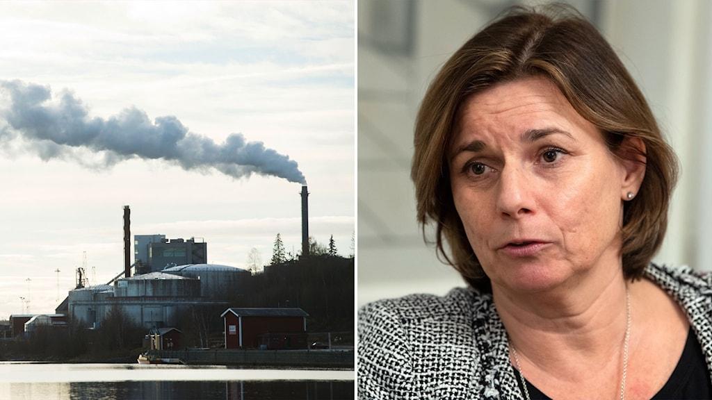 Isabella Lövin, miljö- och klimatminister (MP).