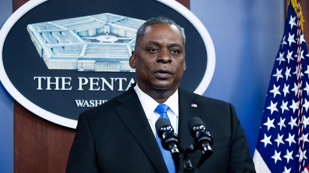 USA:s försvarsminister Llooyd Austin.