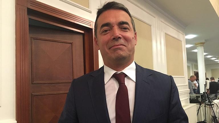 - Vi har väntat länge nog, säger utrikesminister Nikola Dimitrov till Ekot.