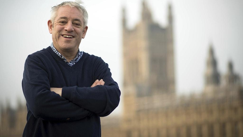 Talmannen i det brittiska Underhuset John Bercow.