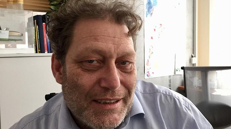 Frederic Hauge på miljöstiftelsen Bellona.