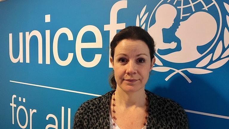 Christina Heilborn, chefjurist på UNICEF Sverige.