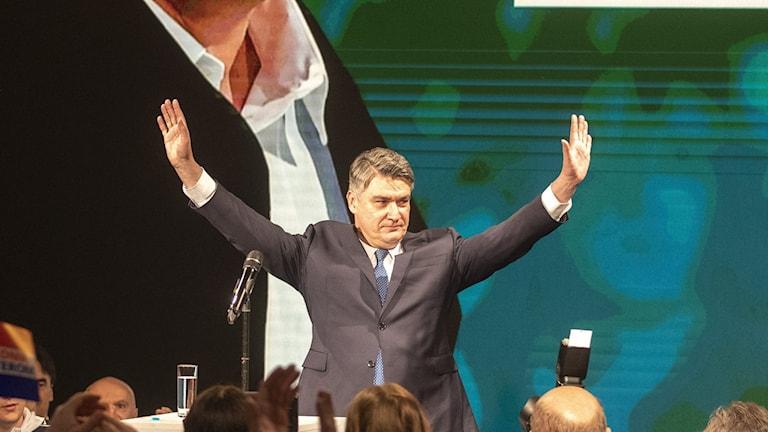 Milanović ny president i Kroatien