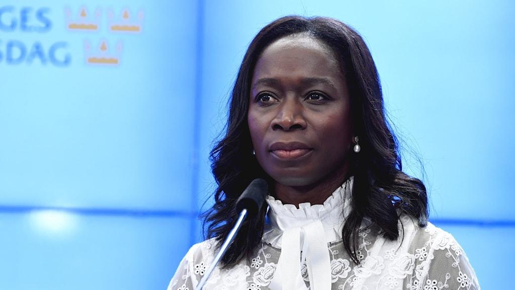Liberalernas partiledare Nyamko Sabuni