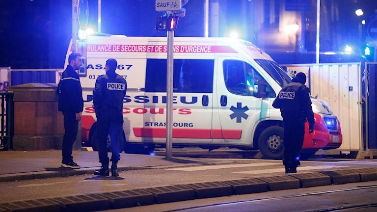 Skottlossning i Strasbourg