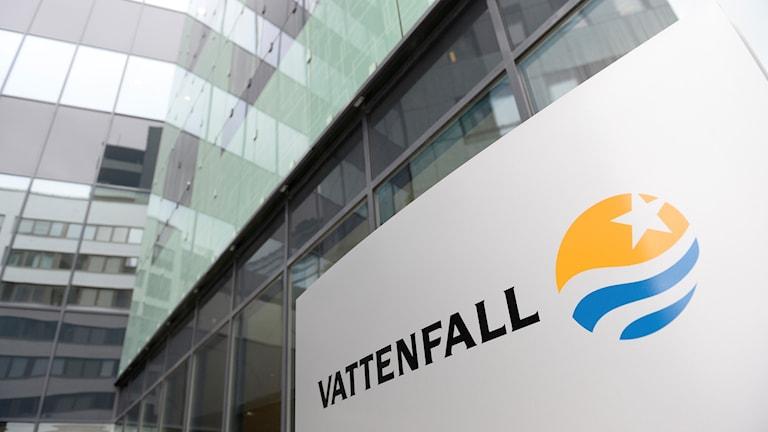 Vattenfall. Foto: TT.