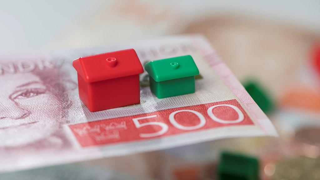 Monopolhus på en 500-kronorssedel