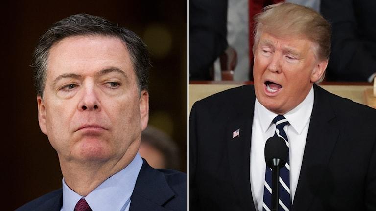 James Comey, chef för den federala polisen FBI, har begärt en offentlig dementi av president Trumps påstående