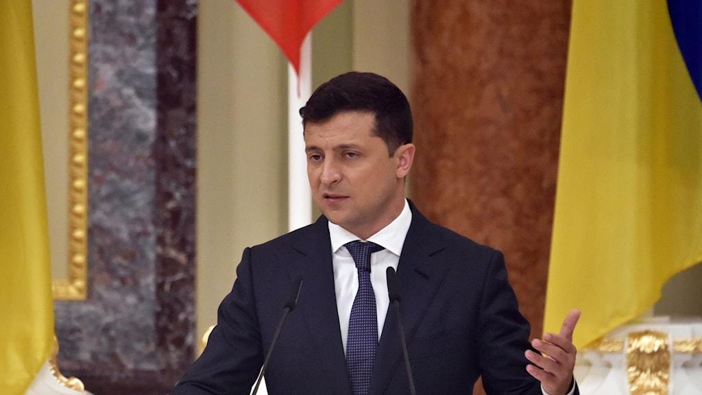 Ukrainas president Volodymyr Zelensky.