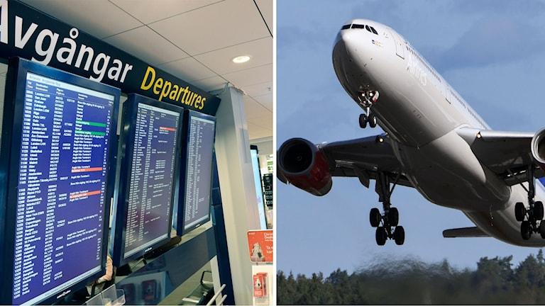 Arlanda förseningar flygplan SAS genre