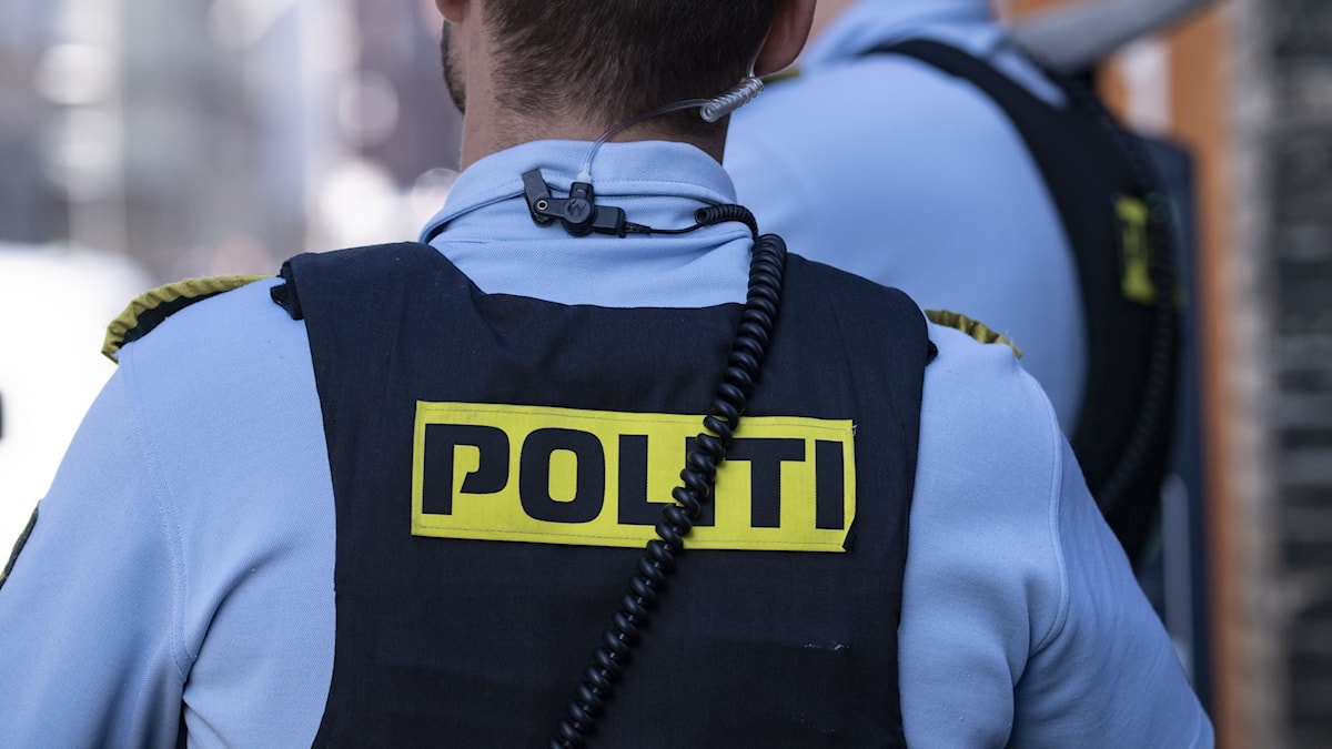 Dansk polis.