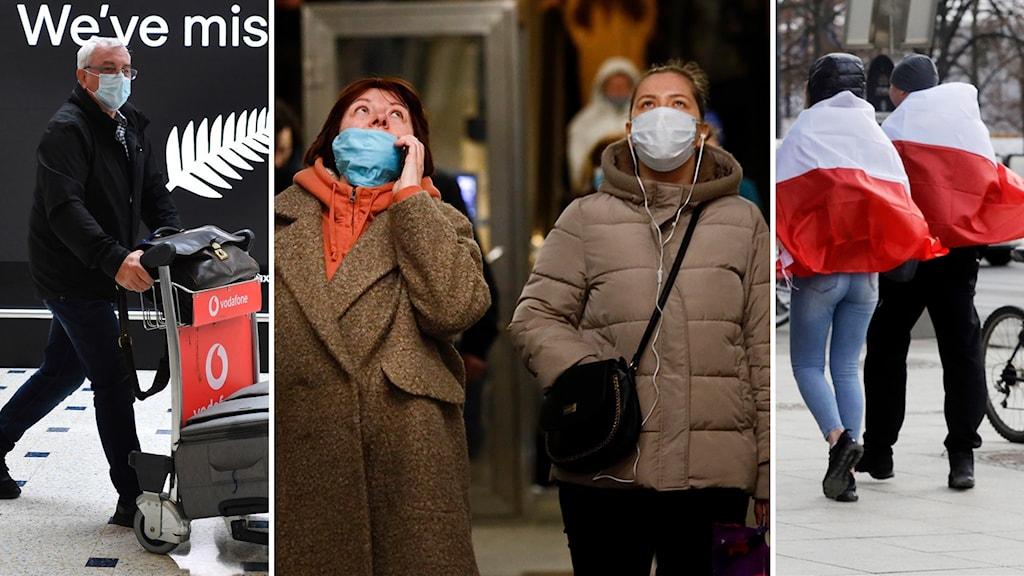 Flera länder har infört olika pandemilagar