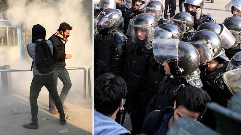 Nya protester i Iran