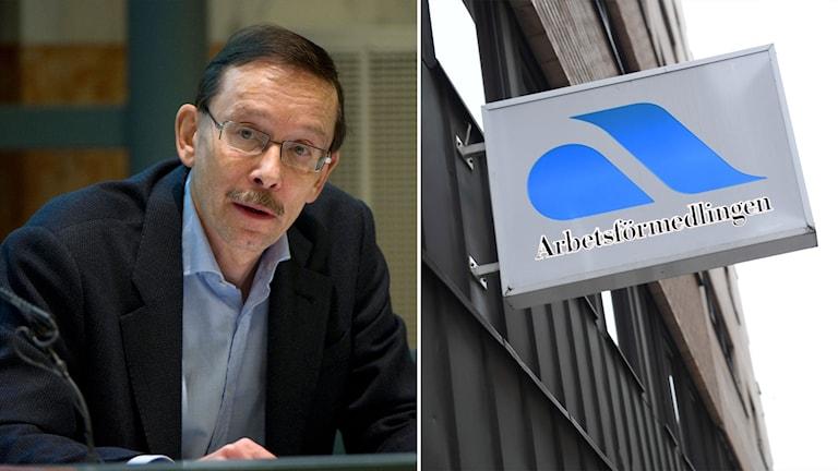 Professor Lars Calmfors och Arbetsförmedlingen