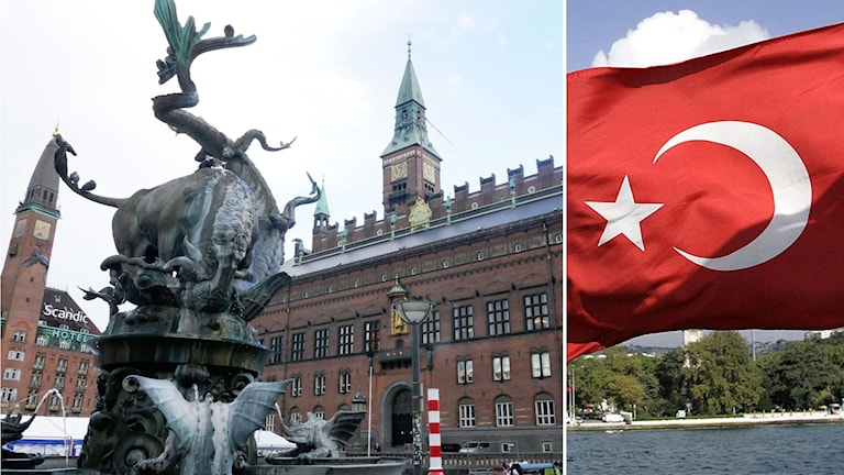 Split Köpenhamn Turkiet flagga