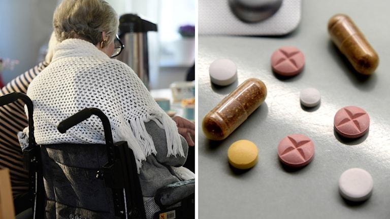 Andelen äldre som får tio läkemedel eller fler ökar enligt en ny rapport från Socialstyrelsen.