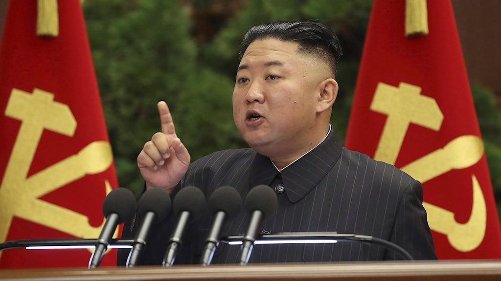 Nordkoreas högsta ledare Kim Jong-un.