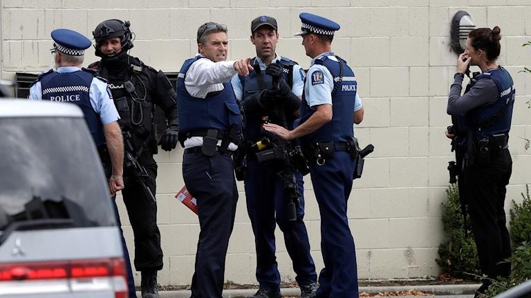 Terrordådet i Nya Zeeland.