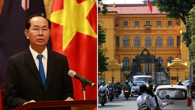 Vietnams president Tran Dai Quang