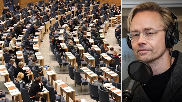 Partiledardebatt och Fredrik Furtenbach