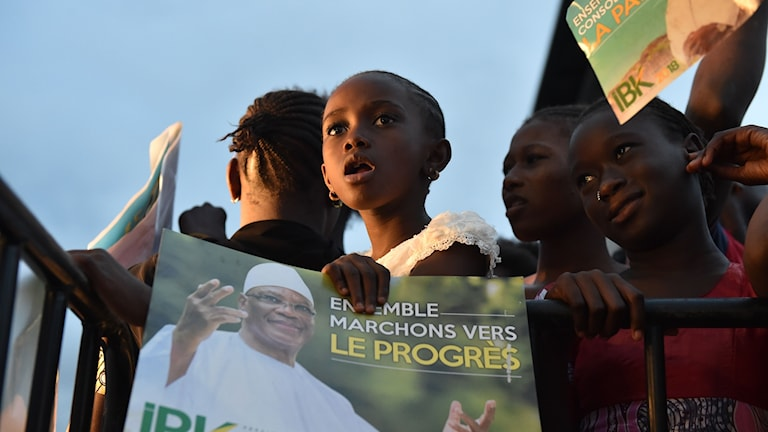 Fredagens valmöte med Malis sittande president, Ibrahim Boubacar Keita, i huvudstaden Bamako.