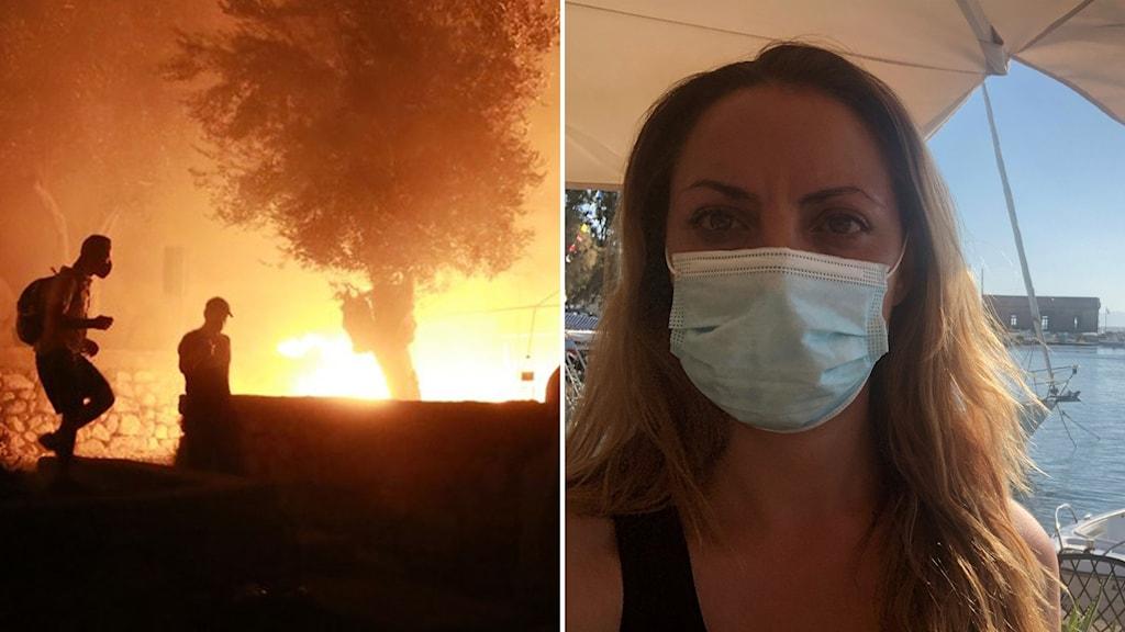 Sofia Sofroniadou och brand