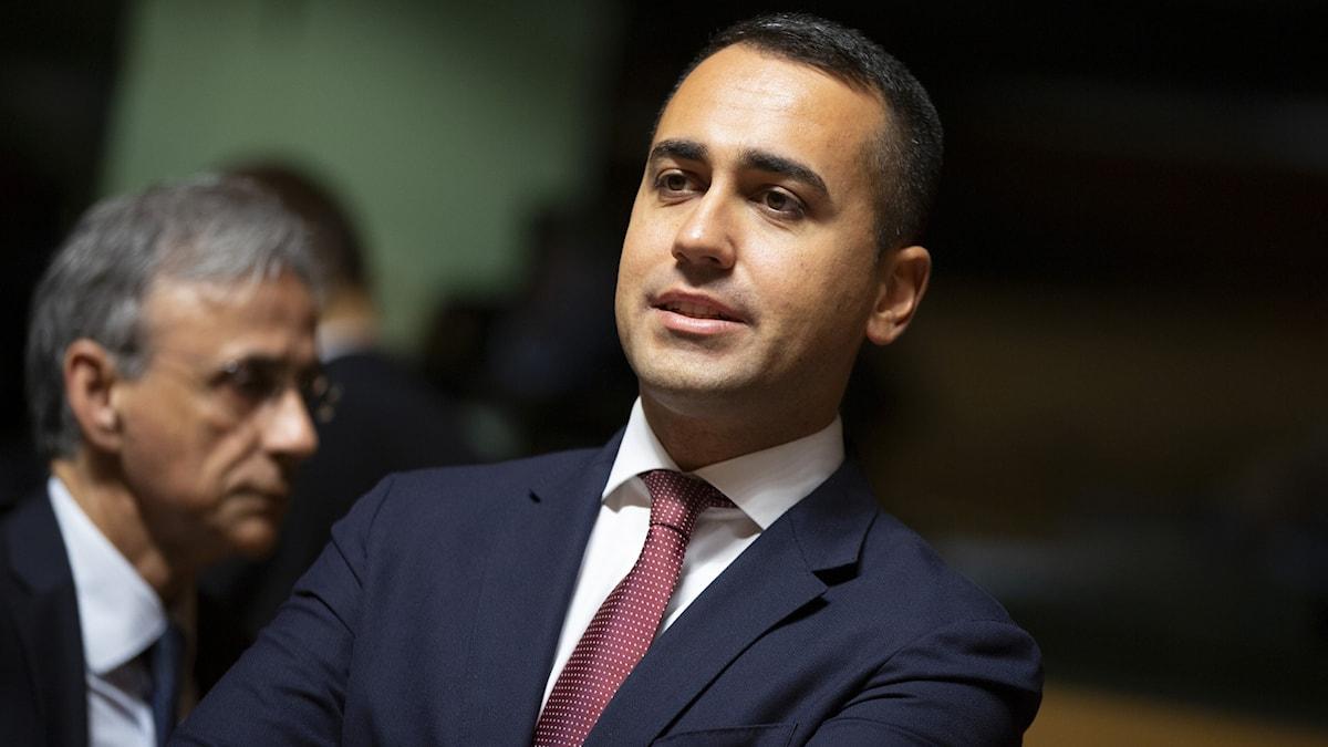 Luigi Di Maio avgår som ledare för Femstjärnerörelsen i Italien.