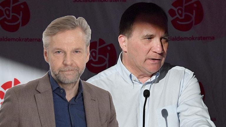 Tomas Ramberg och Stefan Löfven