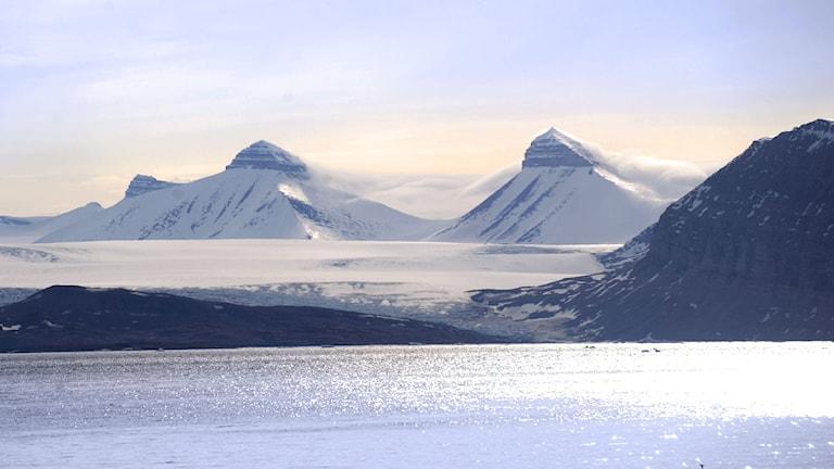 Svalbard. Foto: Fredrik Sandberg/Scanpix.