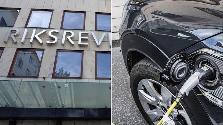 Riksrevisionen och el-bil.