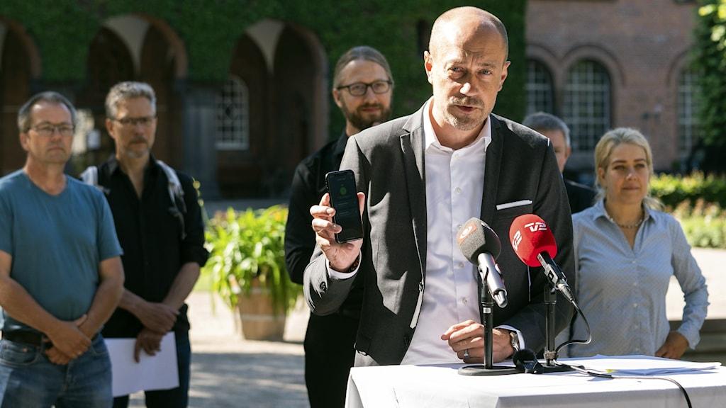 Oro för ytterligare smittspridning i Danmark