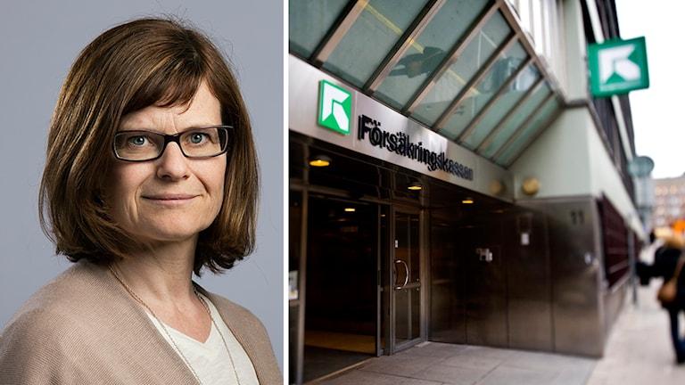 Catarina Eklundh Ahlgren, chefsjurist för socialförsäkring.