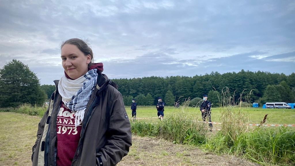 r Kalina Czwarnóg, från hjälporganisationen Fundacja Ocalenie