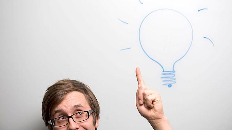 En bra idé är viktig för att starta eget företag. Foto: Henrik Montgomery/Scanpix.