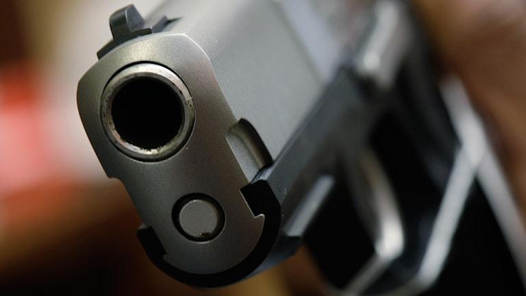 En pistol. Foto: Matt Rourke/Scanpix.
