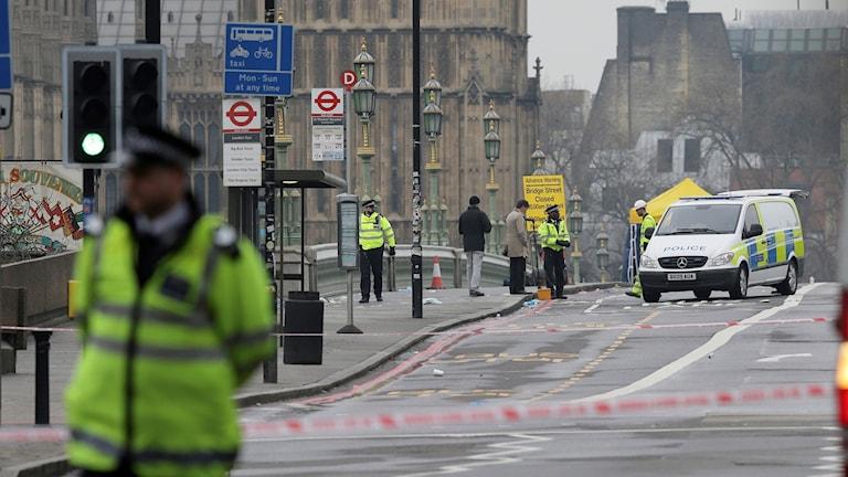 Efter terrordåden har hatbrotten skjutit i höjden (här: London efter attacken i mars 2017). Foto: Tim Ireland/TT.