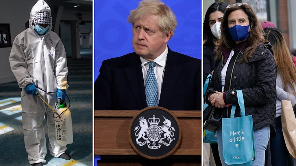 Brittiske premiärministern Boris Johnson.